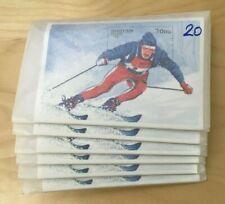 SPECIAL LOT Bhutan 1996 1141 - Winter Olympics - 50 Souvenir Sheets - MNH