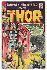 JOURNEY INTO MYSTERY 113  VG-F 5.0  1965  Thor vs Grey Gargoyle, Boyhood of Loki