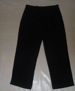Dunlop Black Trousers Size 36W R