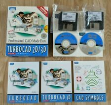 Turbocad 2D/3D Version 3 For Windows 3.1 95 Professional CAD