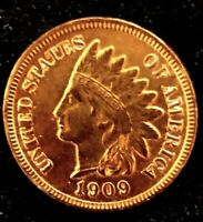 *MAKE-A-$187 OFFER*=1909 RED INDIAN HEAD PENNY MS/BU++ *FULL LIBERTY~4 DIAMONDS*