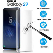 Full Protect Tempered Glass Screen Saver + Clear Soft Case For Samsung Galaxy S9
