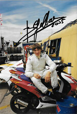 Beppe Gabbiani SIGNED  Sportscar Portrait 2004 , Ex F1 Osella