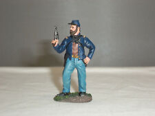 BRITAINS 31217 UNION CAVALRY OFFICER STANDING WITH PISTOL TOY SOLDIER FIGURE