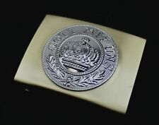 More details for ww1 german army belt buckle gott mit uns reproduction