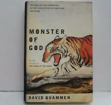 Monster of God by David Quammen. First Edition & First Printing. HCDJ 2003.