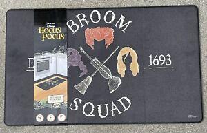 Disney Hocus Pocus Broom Squad Anti-Fatigue Padded Kitchen Mat 18x30 Halloween