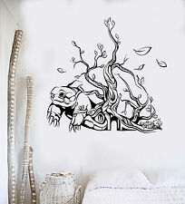Vinyl Wall Decal Abstract Art Turtle Tree House Interior Stickers (ig4198)