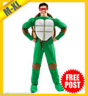 MENS Costume Fancy Dress Up RD Licensed Teenage Mutant Ninja Turtles Size M XL