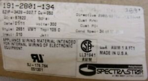 SPECTRA-STRIP 191-2801-134 RIBBON CABLE 30.5 M NOS