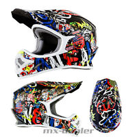 ONeal 3series RANCID Multi Helm Crosshelm MX Motocross Enduro Quad
