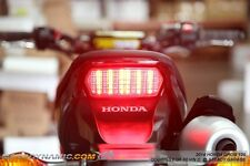 2014-2017 Honda Grom 125 MSX INTEGRATED Turn Signals LED Tail Light CLEAR