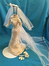 1998 Erica Kane Barbie Wedding Outfit - Mint Condition - Shoes - Bouquet