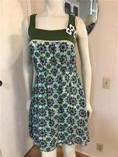 NWT Riverside Spain Adorable Vintage Look Floral Sleeveless Lace Trim Dress 10