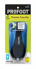 Profoot Plantar Fasciitis Arch Supports Inserts Shoes MEN 1 pair