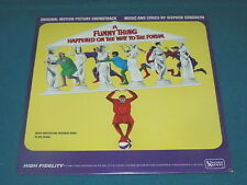 Stephen Sondheim : FUNNY THING HAPPENED on the WAY to the FORUM : mono OST LP
