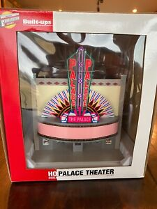 "Walthers, Cornerstone Series, ""Palace Theatre"" HO Scale, New in Box, With Power!"