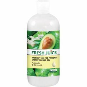 Fresh Juice Creme-Duschgel AVOCADO & REISMILCH