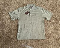 Charles River Country Club Mens Polo Golf Shirt Large Embroidered Logo NWT