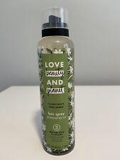 love beauty and planet hair spray Coconut Milk And Jasmine 6.8 Oz