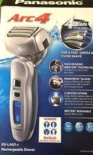Panasonic ES-LA63-S Arc4 Foil Cordless Rechargeable Wet/Dry Electric Shaver NEW✔