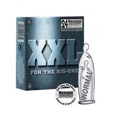 Preservativi Profilattici Condoms extra large Resistenti SECURA XXL set 24 pezzi