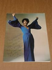 "Lena Horne ""The Lady And Her Music"" 1981 US Concert Programme (Hand Signed)"