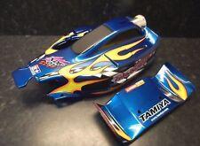 Very Rare New Tamiya Nitro Thunder Factory Finished Body & Rear Wing