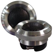"""Audiopipe ATX100 Aluminum Titanium Silk Dome 1"""" Tweeter 100W Max (Set of 2)"""