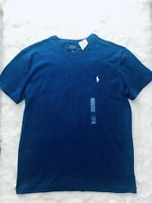 Ralph Lauren Authentic Blue Mens T-shirt Size S Brand New With Tags