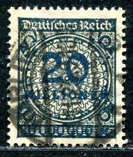 DR 1923 319Awb gestempelt SCHWARZBLAU TADELLOS ATTEST BPP 2200€(S7639