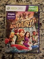 Kinect Adventures (Microsoft Xbox 360, 2010) COMPLETE FREE SHIPPING