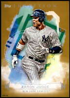 Aaron Judge 2019 Topps Inception 5x7 Gold #81 /10 Yankees