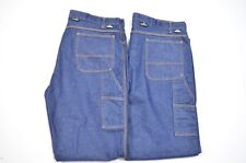 Lot 2 Aramark 42 x 34 2112 Westex Idura HHC 2 Fire Resist Denim Straight Jeans