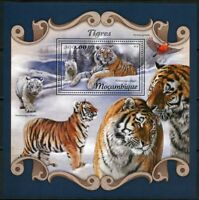 MOZAMBIQUE 2018  TIGERS   SOUVENIR SHEET MINT NEVER HINGED
