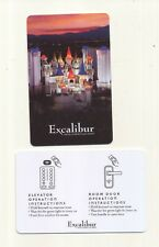new--EXCALIBUR HOTEL & CASINO----Las Vegas,NV---------Room Key