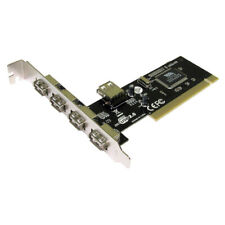 5 Port USB 2.0 Hi Speed PCI Karte 4+1 Ports