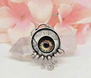 STERLING SILVER WATCHFUL EYE PENDANT NECKLACE BY Q2jewelrycollection