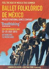 BALLET FOLKLORICO DE MEXICO Theatre Flyer Handbill