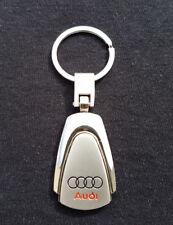 Porte Clé AUDI en Métal - A1 A2 A3 A4 A5 A6 A8 Q2 Q3 Q5 Q7 TT Rs