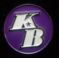"KOBE BRYANT KB LOS ANGELES LAKERS PIN 1"" ,"