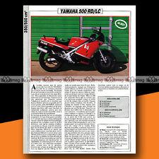 ★ YAMAHA RD 500 LC (RDLC) ★ 1985 Essai Moto / Original Road Test #a739