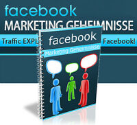 FACEBOOK MARKETING GEHEIMNISSE EBOOK MRR WEBPROJEKT EBOOK RESALE NEU VIRAL WOW
