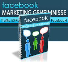FACEBOOK MARKETING GEHEIMNISSE EBOOK MRR WEBPROJEKT EBOOK RESALE NEU VIRAL WOW