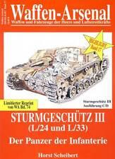 Waffen-Arsenal Sturmgeschütz III Ausf.C/D L/24 und 33 Panzer der Infanterie StuG