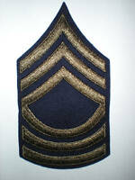 US ARMY WWII MASTER SERGEANT STRIPES -ORIGINAL-- 1 PAIR
