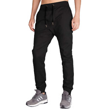 Italy Morn Men's Chino Jogger Pants Black Size S NEW WITH TAGS