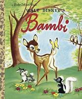 Little Golden Book: Bambi by Golden Books Staff (2004, Hardcover)