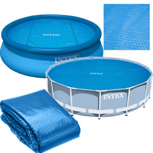 INTEX 29023 15ft 457 (448) cm Solar Heat Pool Heater Cover Frame EasySet Round