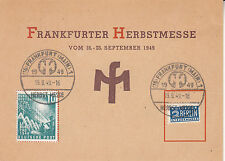 Bund 111 EF auf Poka, SoSt FFM -  Fürth, 19.9.1949